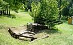 Chatová osada Hrabovka Bojnice